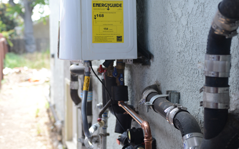 $150 Off Tankless Water Heaters