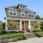 Beautiful craftsman home exterior