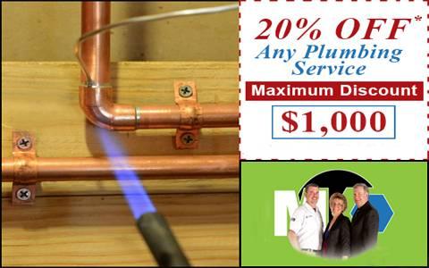 20% Off Any Plumbing Maximum Discount $1000