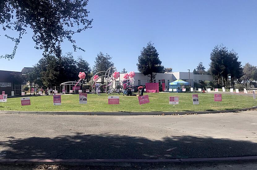 MCP breast cancer awareness drive